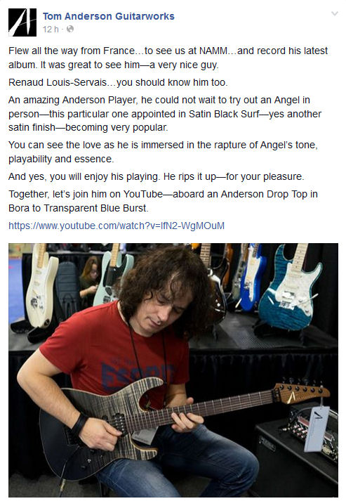 revue Facebook Tom Anderson